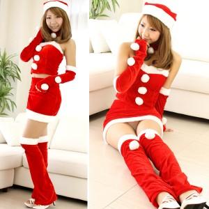 クリスマス衣装 パーティー サンタ コスプレ コスチューム