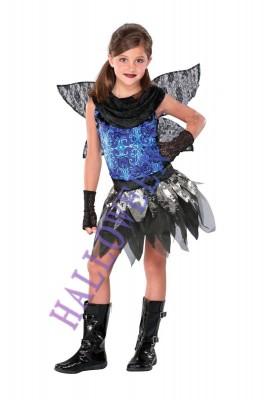 ハロウィン 衣装 ブルー精霊服 子供用 コスチューム ガール