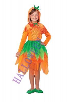 ハロウィン 衣装 珍しいカボチャ服 子供用 コスチューム ガール