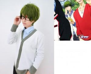 コスプレ衣装 黒子のバスケ 緑間真太郎 セーター ホワイト
