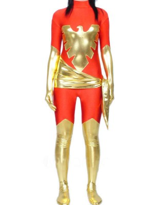 女性用 メタリック 戦闘員 全身 タイツ衣装