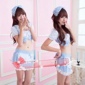 コスプレ衣装 可愛いメイド服 コスチュームスカート
