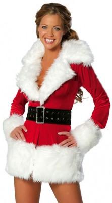 パーティー クリスマス衣装  サンタ コスプレ コスチューム