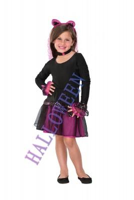ハロウィン 衣装 キッズ 完美Kittyワンピース 子供用コスチューム