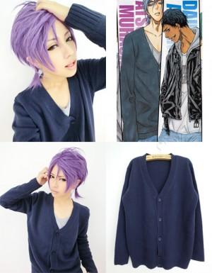 コスプレ衣装 黒子のバスケ 紫原敦 カーディガンセーター