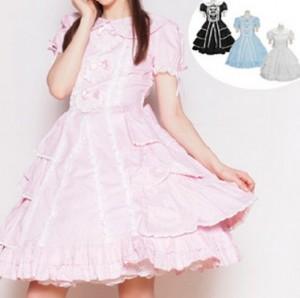 カロリーヌ 三つのハートのドリーミングドレス ゴスロリ ロリータ パンク コスプレ コスチューム メイド衣装