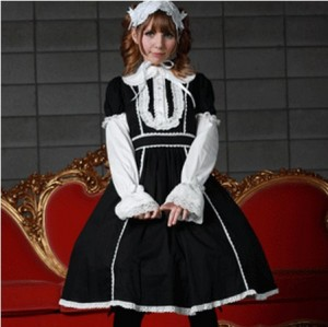 スージー リボンドレス L058 ゴスロリ・ロリータ・パンク・コスプレ・コスチューム・メイド衣装