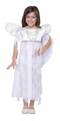 ハロウィンコスチューム 白いエンゼル プリンセス ドレス 子供用