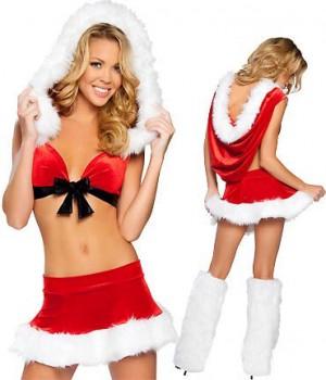 クリスマス衣装 パーティー セクシーステージ衣装