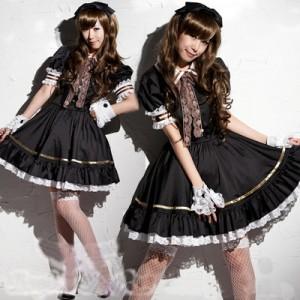 プリンセスドレス メイド コスチューム ステージ衣装