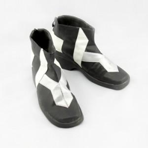 ギルティクラウン 楪 いのり ショート コスプレ靴ブーツ