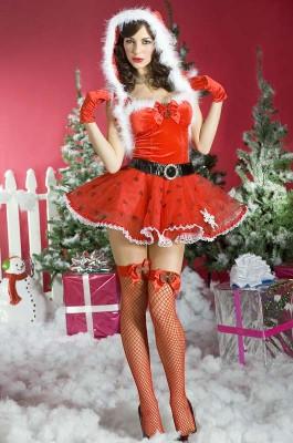 サンタクロース衣装 コスプレ コスチューム クリスマス衣装 赤頭巾