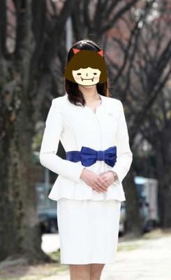 ミスフェアレディ 衣装 コスチューム 制服 ホワイト