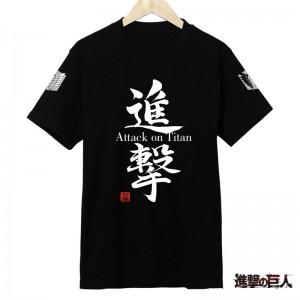 進撃の巨人 Tシャツ アニメキャラクター 人気アニメTシャツ