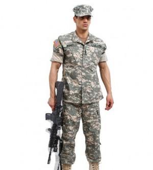 アメリカ ミリタリーACU戦闘服 作業服 カモフラージュ CSチノ