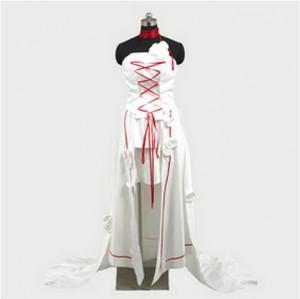 Pandora Hearts 白うさぎアリス ドレス コスプレ衣装