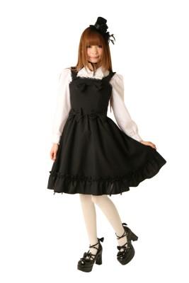 Cream doll ジャンパースカート[ブラックココア]コスプレ衣装 コスチューム