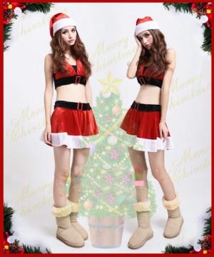 クリスマス衣装 ミニサンタクロースコスチューム