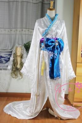 コスプレ衣装 妖狐×僕SS  雪小路野ばら 和服 雪女先祖帰り