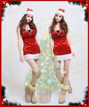 クリスマス サンタコスチューム ドレッシーサンタドレス