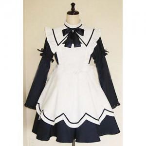 綺麗なメイド服 制服 コスチューム コスプレ衣装