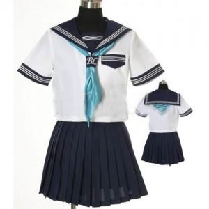 女子制服 セーラー服風コスチューム衣装