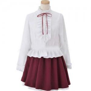けいおん!学園祭 平沢唯 コスプレ衣装