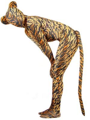 全身タイツ 女性コスチューム豹柄衣装