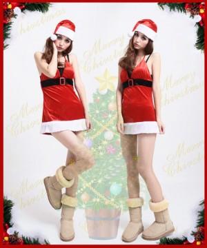 サンタクロース クリスマス コスプレ衣装 プリティ☆姫サンタ