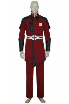 機動戦士ガンダムSEED ZAFT軍隊メンズ制服 ザラ ザフト 赤 コスプレ衣装