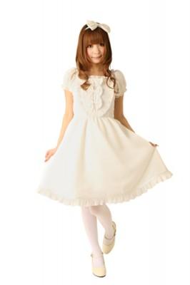 Cream dollジャンパースカート衣装(マシュマロミルク) 色:クリーム サイズ:M