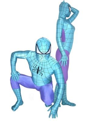 スパイダーマン 全身タイツ 青い衣装