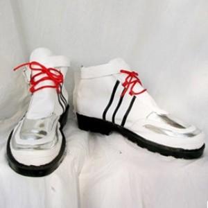 キングダム ハーツII リク 合皮 ゴム底 コスプレ靴