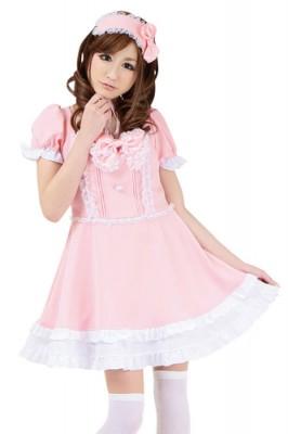 キュートロリータグラフィティ衣装色:ピンク サイズ:M
