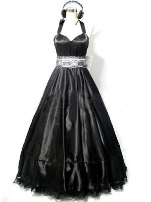 巡音ルカ magnetコスプレ衣装 ドレス黒