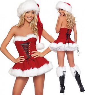 クリスマス衣装 クリスマスファッション コスプレ 演出服