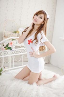 コスプレ ナース服 白衣 看護婦 制服 セクシーコスチューム