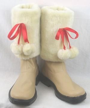 アニメ新作 「K」 ネコ コスプレ靴ブーツ