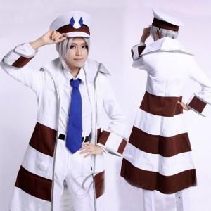 ポケットモンスター キャラクター セール ブラック・ホワイト サブウェイマスター ノボリ&クダリ風 コスプレ衣装