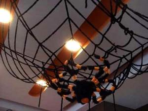 ハロウィン 装飾 パーティー グッズ 大きな蜘もの巣 飾り