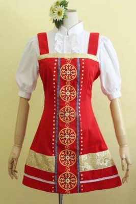 鉄拳 アリサAlisa 赤いドレス コスプレ衣装