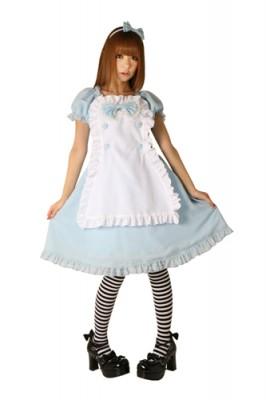 ベビーブルーアリス 色:水色 サイズ:M衣装