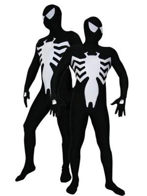スパイダーマン(ブラック) 全身タイツ衣装