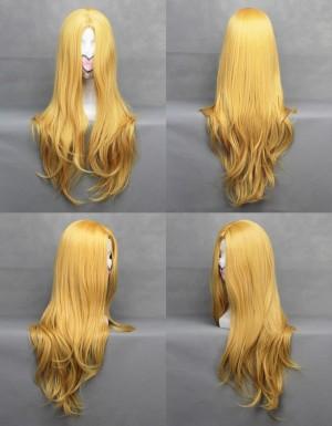 ブリーチ『BLEACH』 松本乱菊 黄金色ロング巻き髪 高品質耐熱新素材コスプレウィッグ