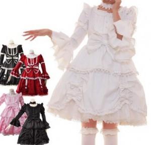 エリーゼプリンセス スーツ  ゴスロリ ロリータ パンク コスプレ コスチューム メイド衣装