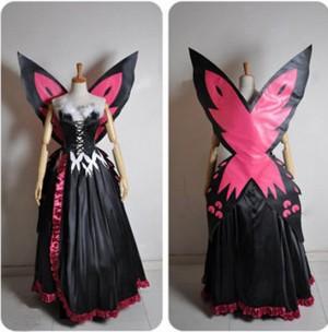 アクセル ワールド 黒雪姫(クロユキヒメ) 上品コスプレ衣装 豪華新作