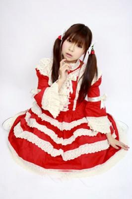 ローズワンピース サイズ:ゴスロリ ロリータ パンク コスプレ コスチューム メイドボディーライン衣装