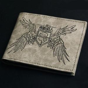 最新人気財布 進撃の巨人 財布 エレン/ミカサ/リヴァイバッジ風財布