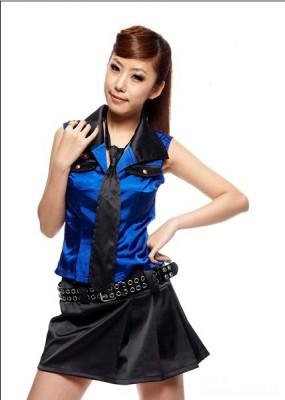 セクシー制服 少女 セクシーユニホーム制服 学生装 コスチューム ステージ衣装 イブニングドレス