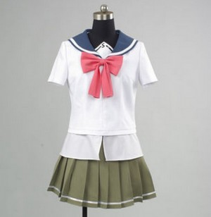 うぽって!! 青錆学園 中等部 ふんこ (FNC) 女子ユニホーム コスプレ衣装